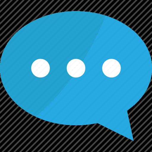 blue, bubble, bubbles, business, chat, comment, comments, communication, connection, message, social, speech, talk icon