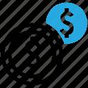 finance, money, coin, coins