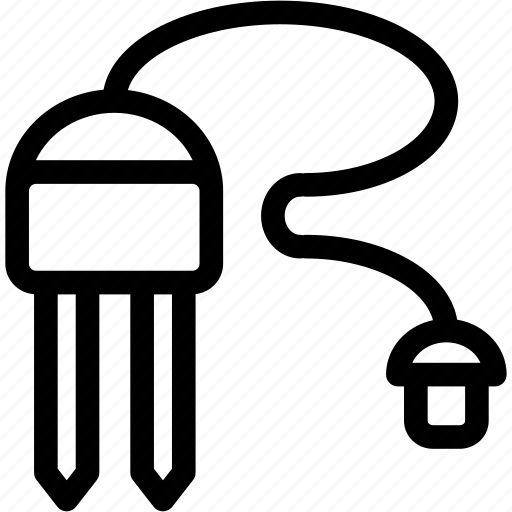 decagon, moisture sensor, probe, sensor, soil moisture probe icon