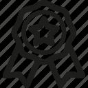 awards, badge, optimization, pin, seo, star, web icon