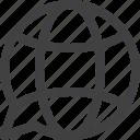 bubble, globe, message, translate icon