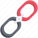 build, link, marketing, plus, promotion, seo, url icon