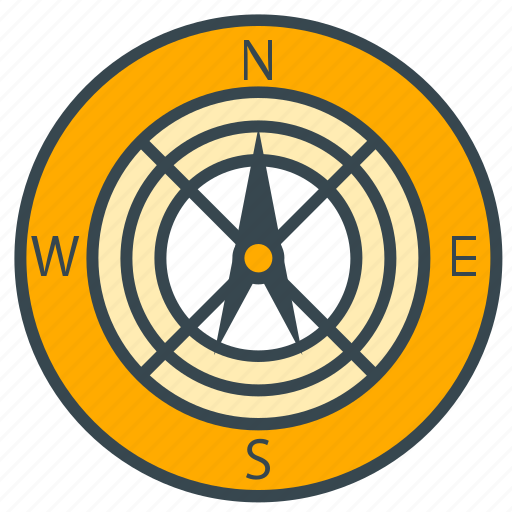 business, camping, compass, direction, pointer, seo icon
