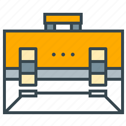 briefcase, business, office, seo, suitcase icon