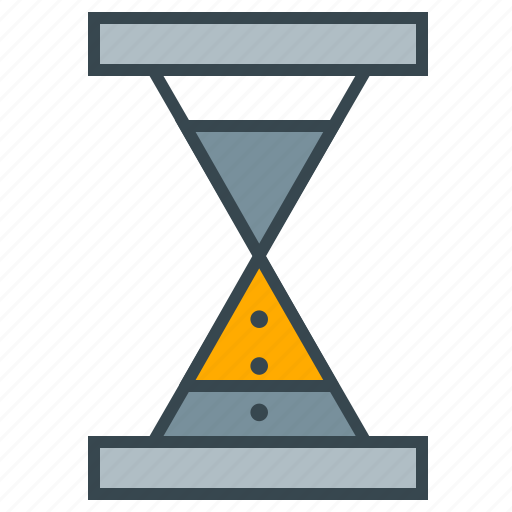 business, deadline, hourglass, seo, time icon