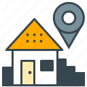 business, house, local, location, office, pointer, seo icon