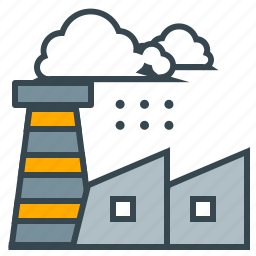 business, chimney, factory, production, seo, smoke icon