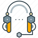 business, customer, headphone, seo, support icon