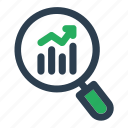 market, marketing, research, seo icon