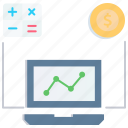 budget, calculator, dashboard, dollar, payment, plan, trading icon
