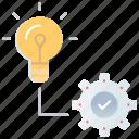creative, idea, optimization, search engine optimization, seo, solutions, vision icon