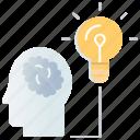creative, creativity, idea, seo marketing, solution, vision icon