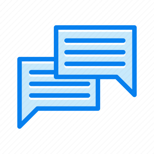 chat, chatting, dialogue, discussion icon