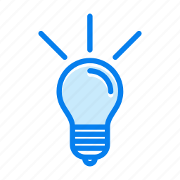 idea, lamp, marketing, seo icon