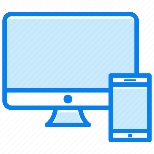 devices, pc, screen, smartphone, technology icon