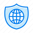 globe, shield, protect, protection, security
