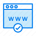 browser, find, search, website icon