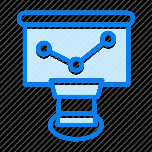 analytics, business, diagram, graph icon