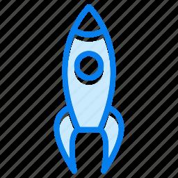 luanch, optimization, rocket, seo icon