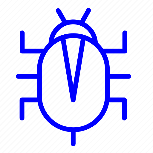 bug, code, problem icon, protection, secure, security, virus icon