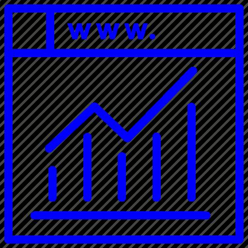 data, monitoring, optimization, page, seo, strategy, web icon