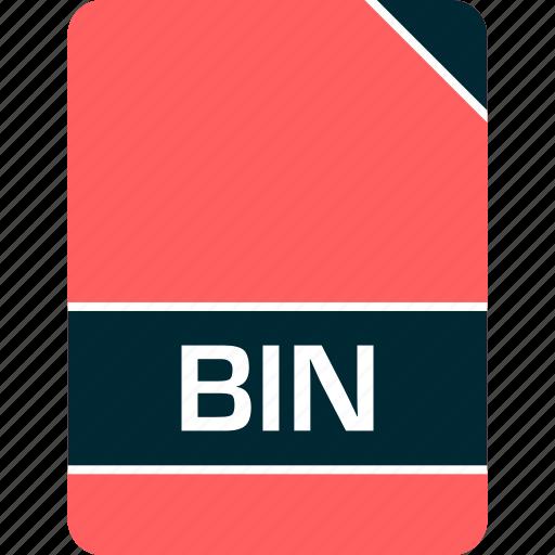 bin, doc, document, file icon