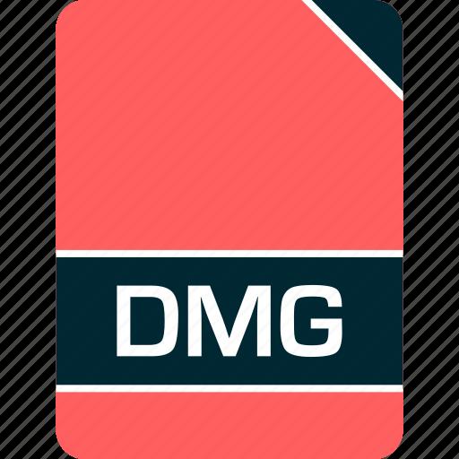 dmg, doc, document, file icon