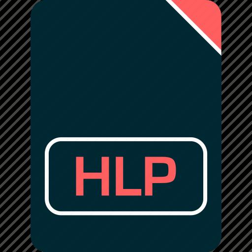 doc, document, file, hlp icon