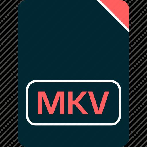 doc, document, file, mkv icon