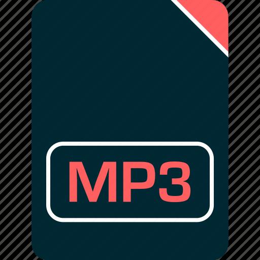 doc, document, file, mp3 icon