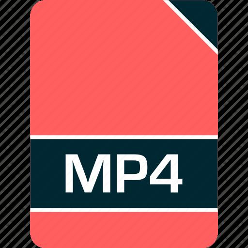 doc, document, file, mp4 icon