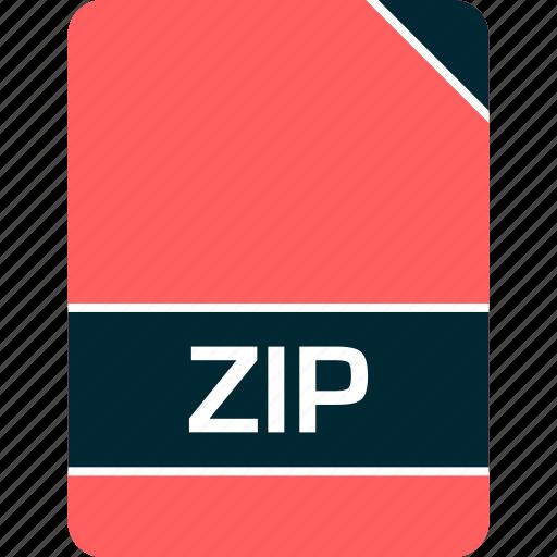 doc, document, file, zip icon