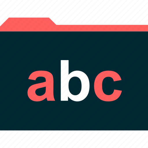 abc, archive, file, folder icon