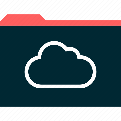 archive, cloud, secured icon