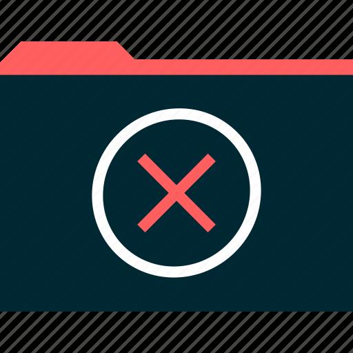 cross, delete, file, x icon