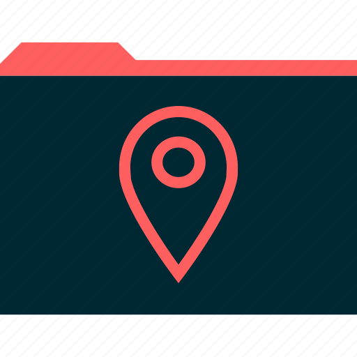 gps, location, map icon