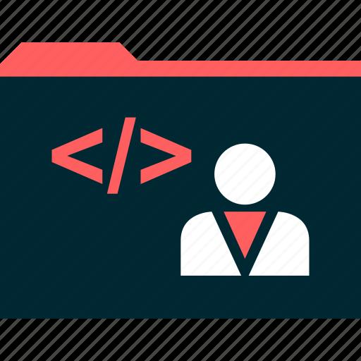 developer, file, web icon