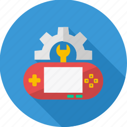 controller, develope, development, game, settings, video game, videogame icon