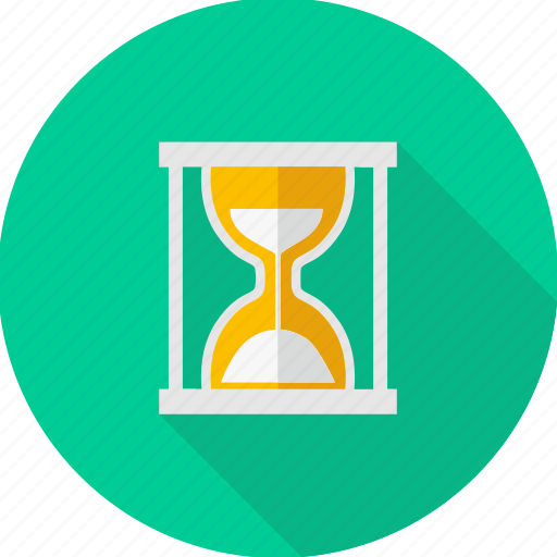 hourglass, sandglass, schedule, stopwatch, time, timer, wait icon