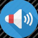 speaker, volume, audio, loudspeaker, media, music, sound