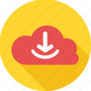 cloud, computing, download, hosting, service, services, storage icon