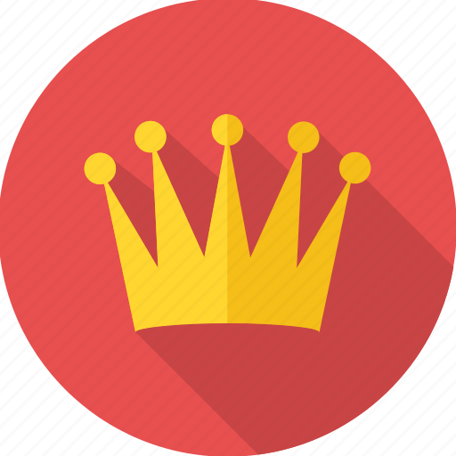 achievement, crown, king, prince, reward, success, win icon