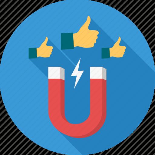 client, gesture, gestures, hand, integration, magnet, usage icon