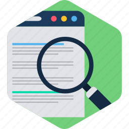 document, documents, file, find, page, search, web icon