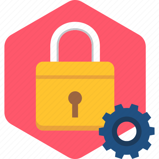 lock, options, privacy, protection, secure, security, settings icon