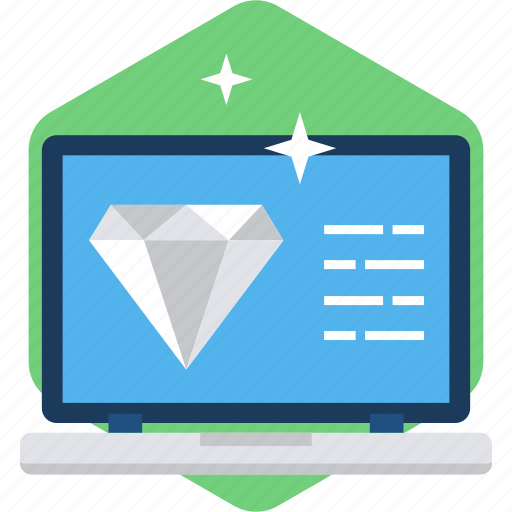 best, browser, design, diamond, page, screen, web icon