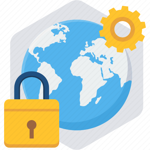 configuration, global, lock, password, security, setting, settings icon