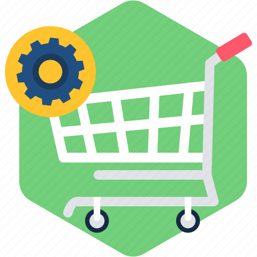 cart, commerce, ecommerce, empty, shop, shopping, trolley icon