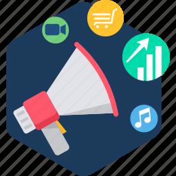 media, multimedia, play, player, social, video icon