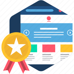 design, rate, rating, star, web, webpage, website icon
